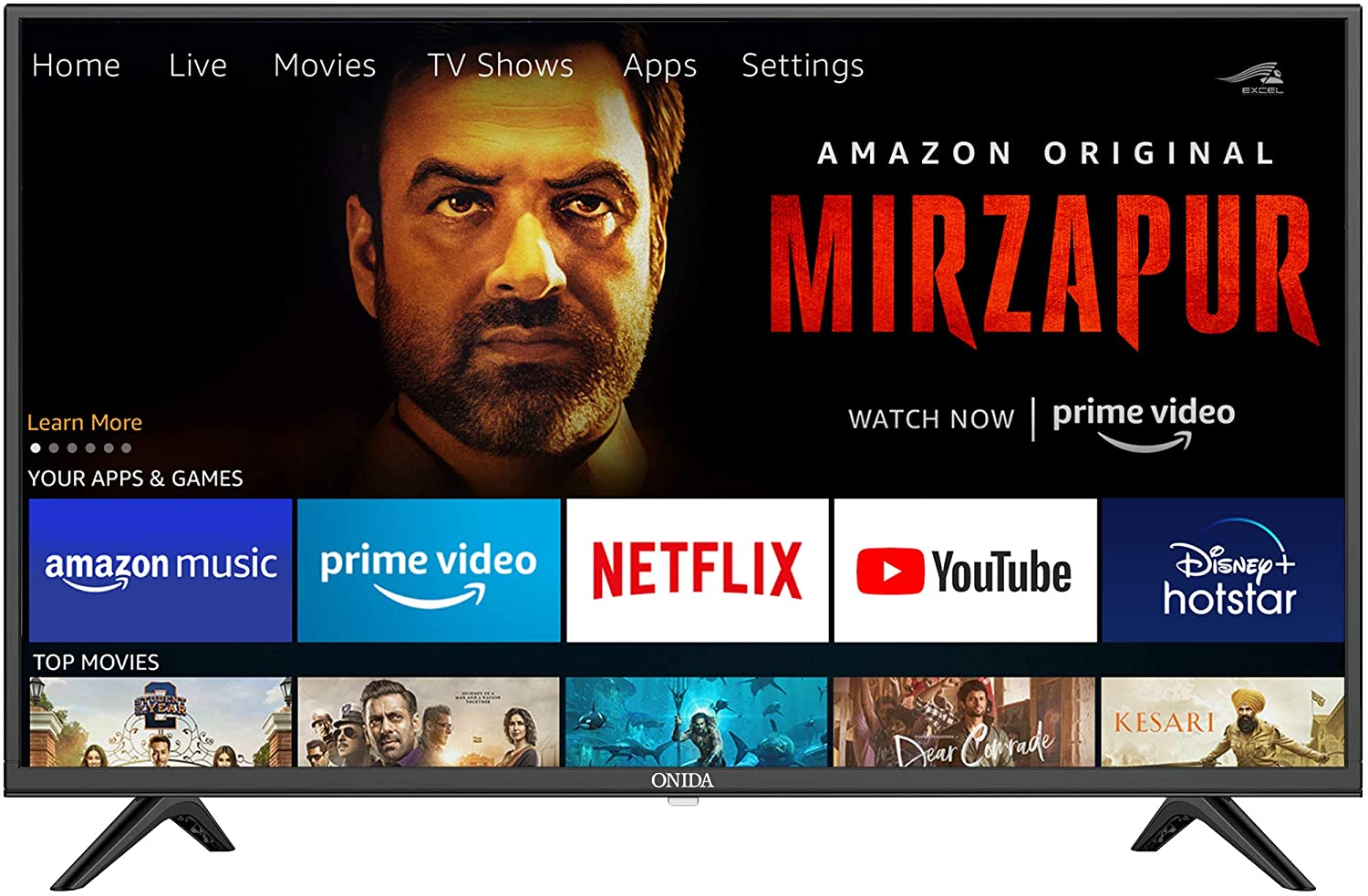 Onida 108 cm (43 Inches) Fire TV Edition